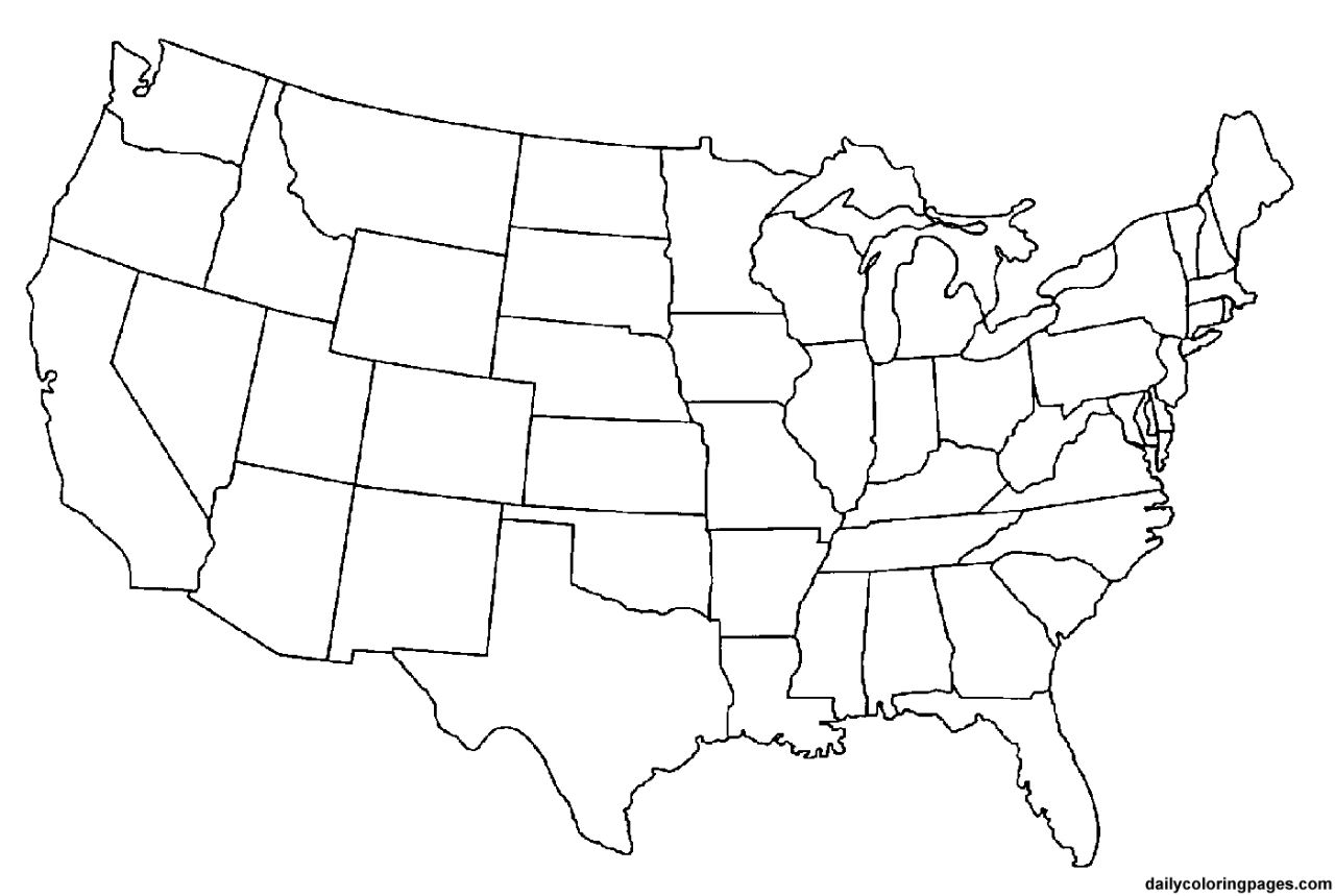 Transparent Map Of Usa Transparent Map Of The United States - Us map color