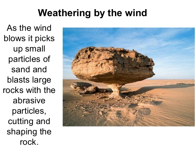 Erosion and Weathering for Kids -Causes and Differences ...