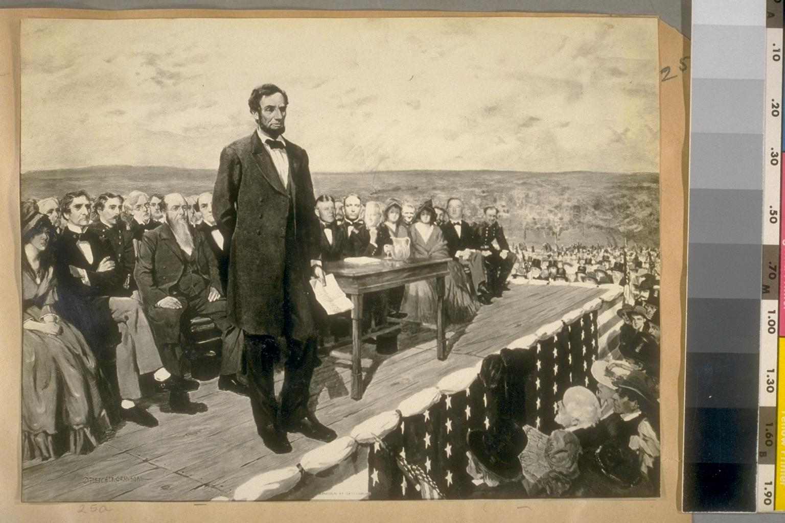 english second inaugural address of abraham 1 abraham lincoln's second inaugural address abraham lincoln2 march 4, 1865 3 fellow-countrymen: 4 5 at this second appearing to take the oath of the presidential office there.