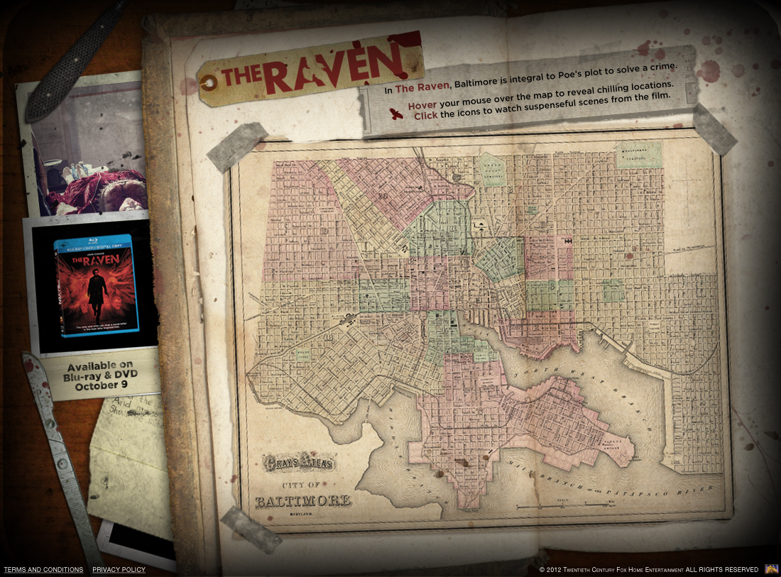 Check Out This Awesome Interactive Map From The Raven