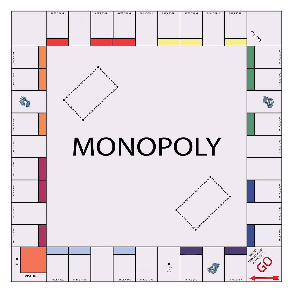 Шаблоны для монополии своими руками