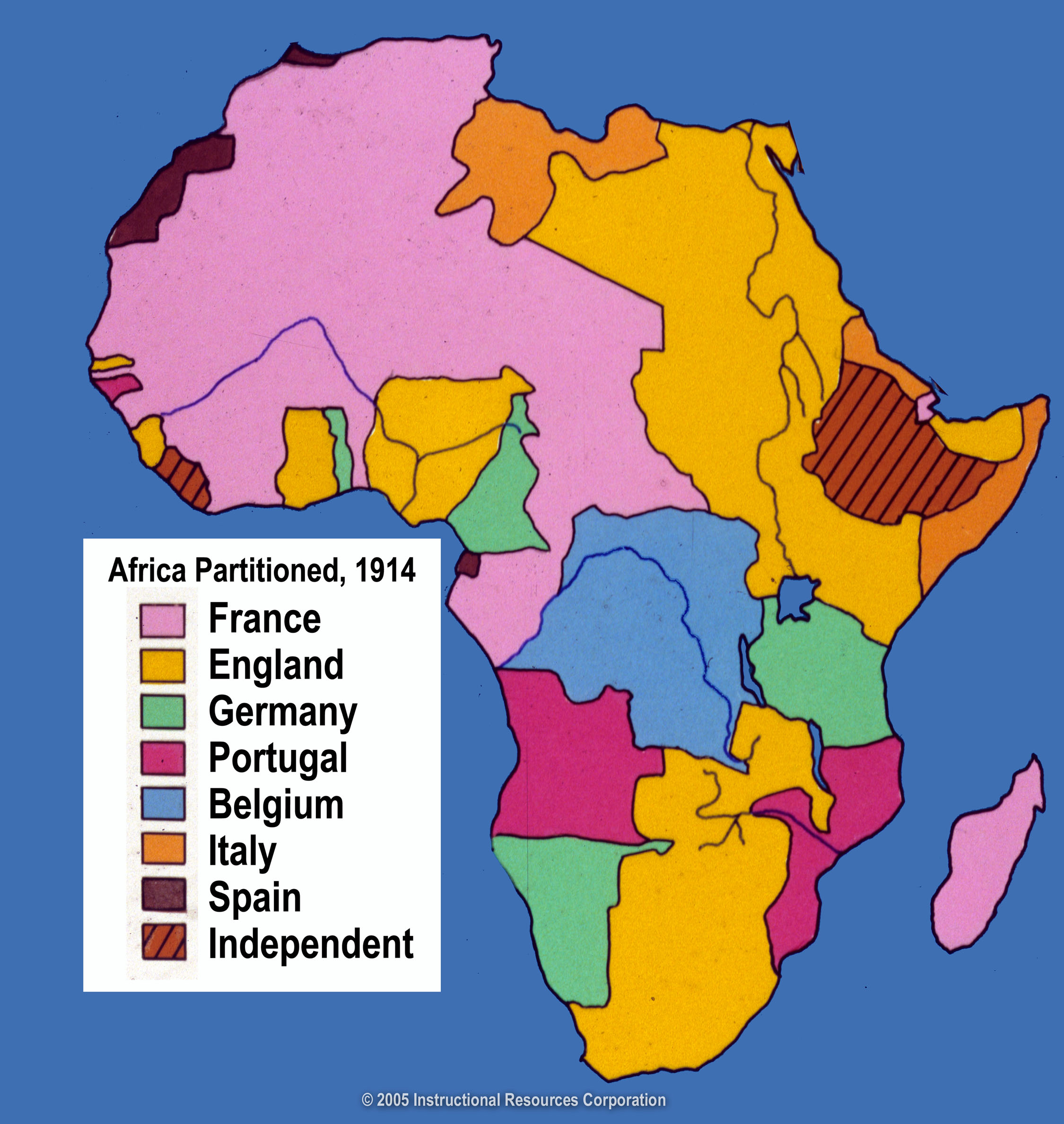 african imperialism France's experience in africa was conditioned by two things first, france had a longstanding interest in the region bordering the mediterranean sea thanks to its own coast line between italy and spain, its active role in the crusades and its incorporation into the roman empire second, france lost.