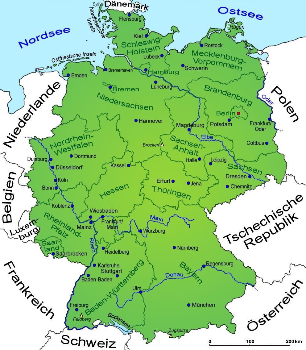 Allemagne La Fondation Des Bundeslander