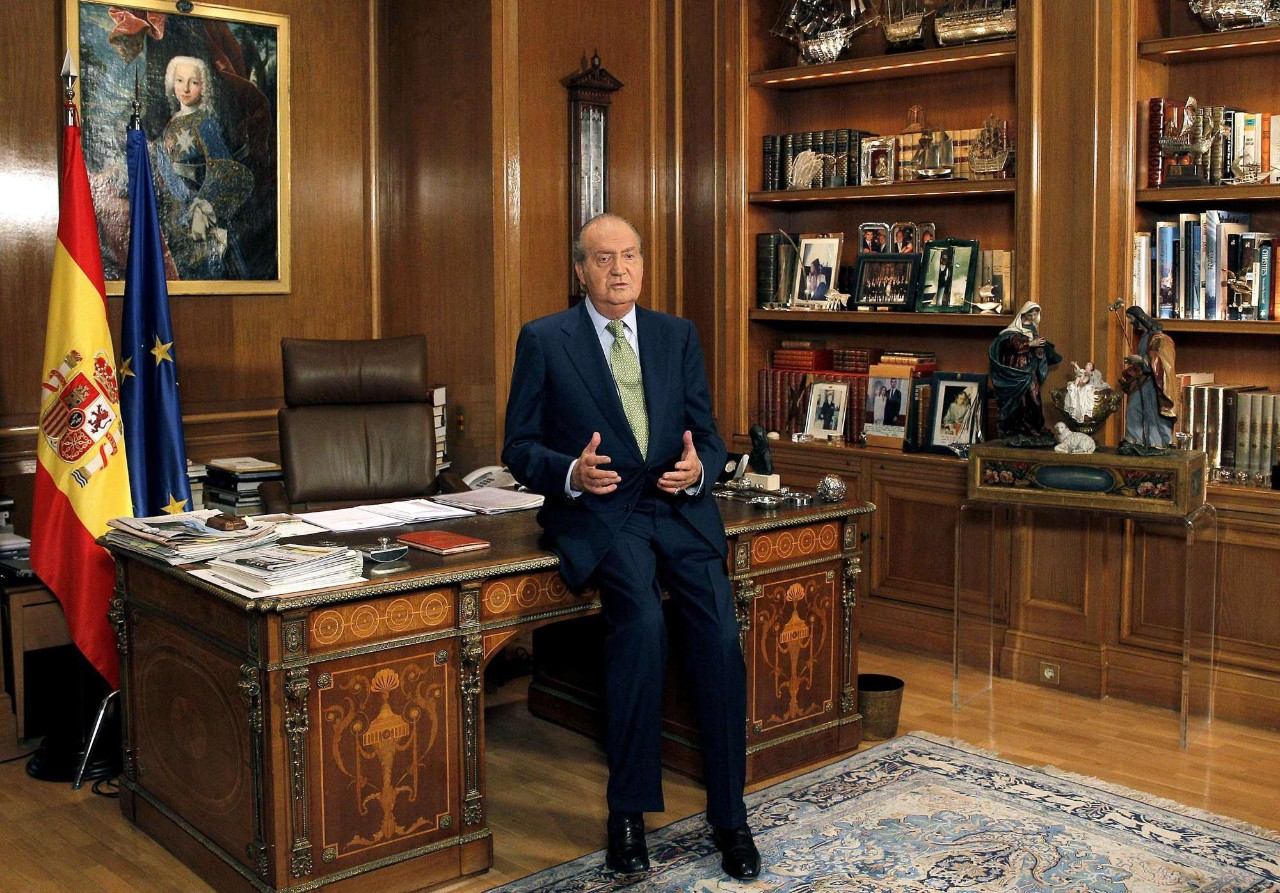 Mensaje del rey de Navidad 2012: Fotografía interactiva de su