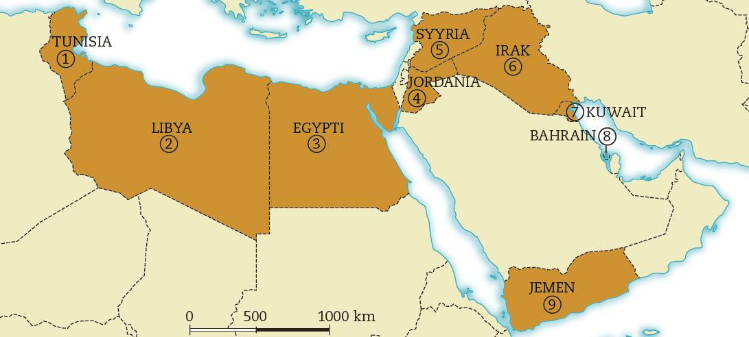 Kah2 Arabikevaan Leviaminen Kartta