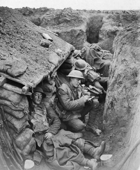 Trenches in Ww1 Rats Life in The Trenches Rats