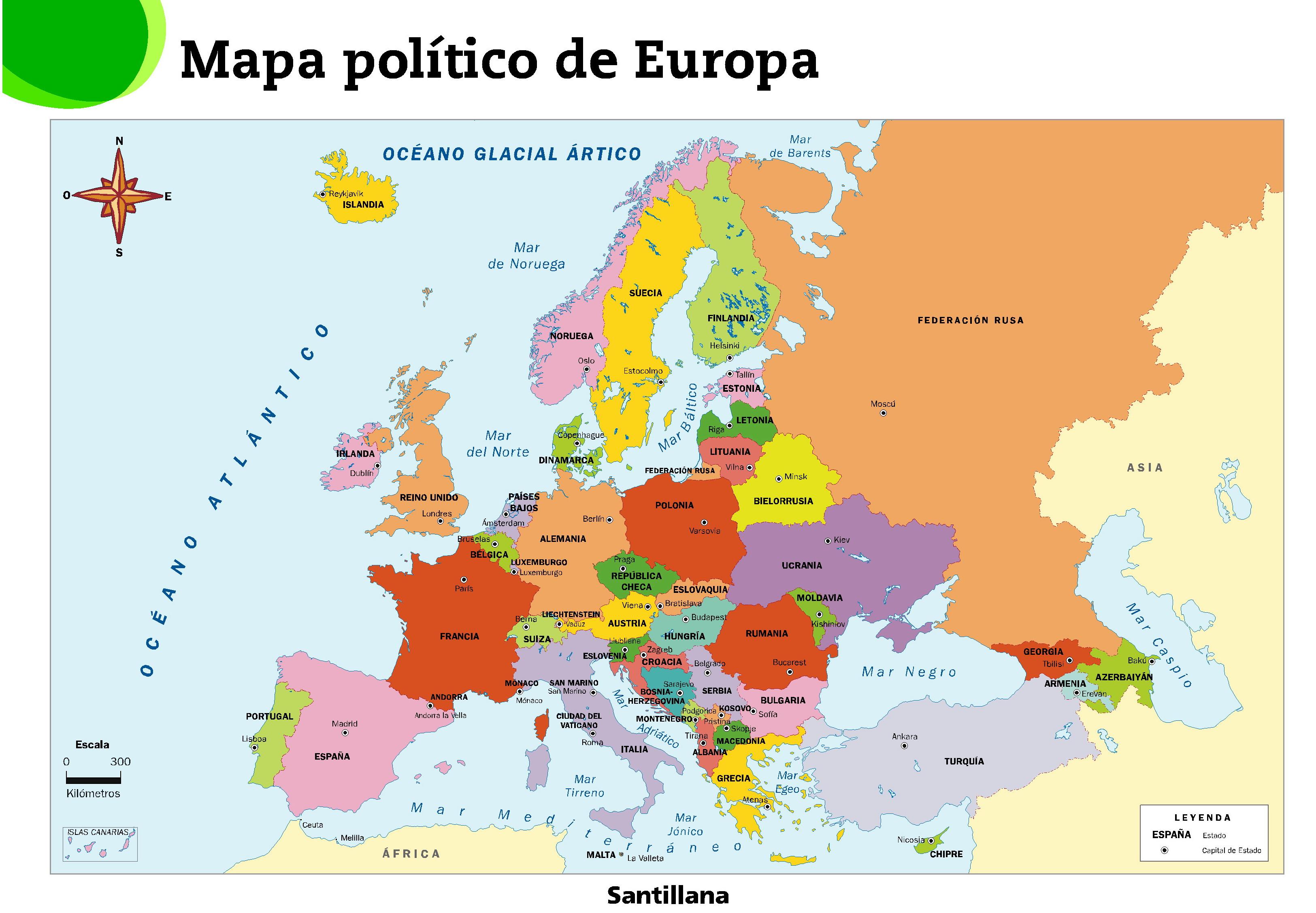 Prueba mapa de Europa - ...