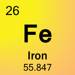 Iron periodic table napma what number is iron on the periodic table images urtaz Images