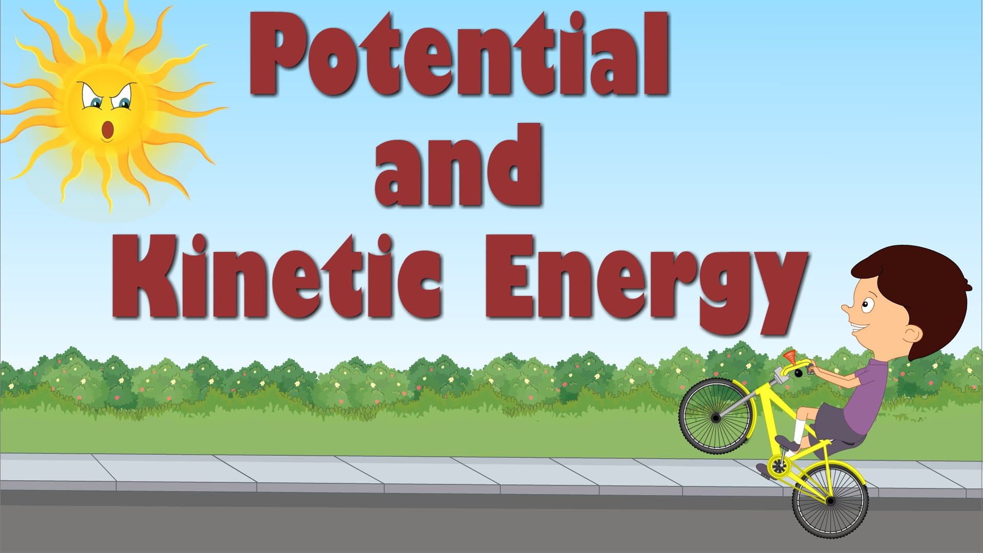 potential vs kinetic energy assignment