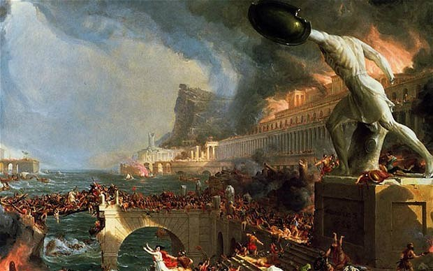the history of the fall of rome What led to the fall of rome in 70 ad what political mistakes did they make that costed them the kingdom in your opinion, did the fall happen gradually or over a.