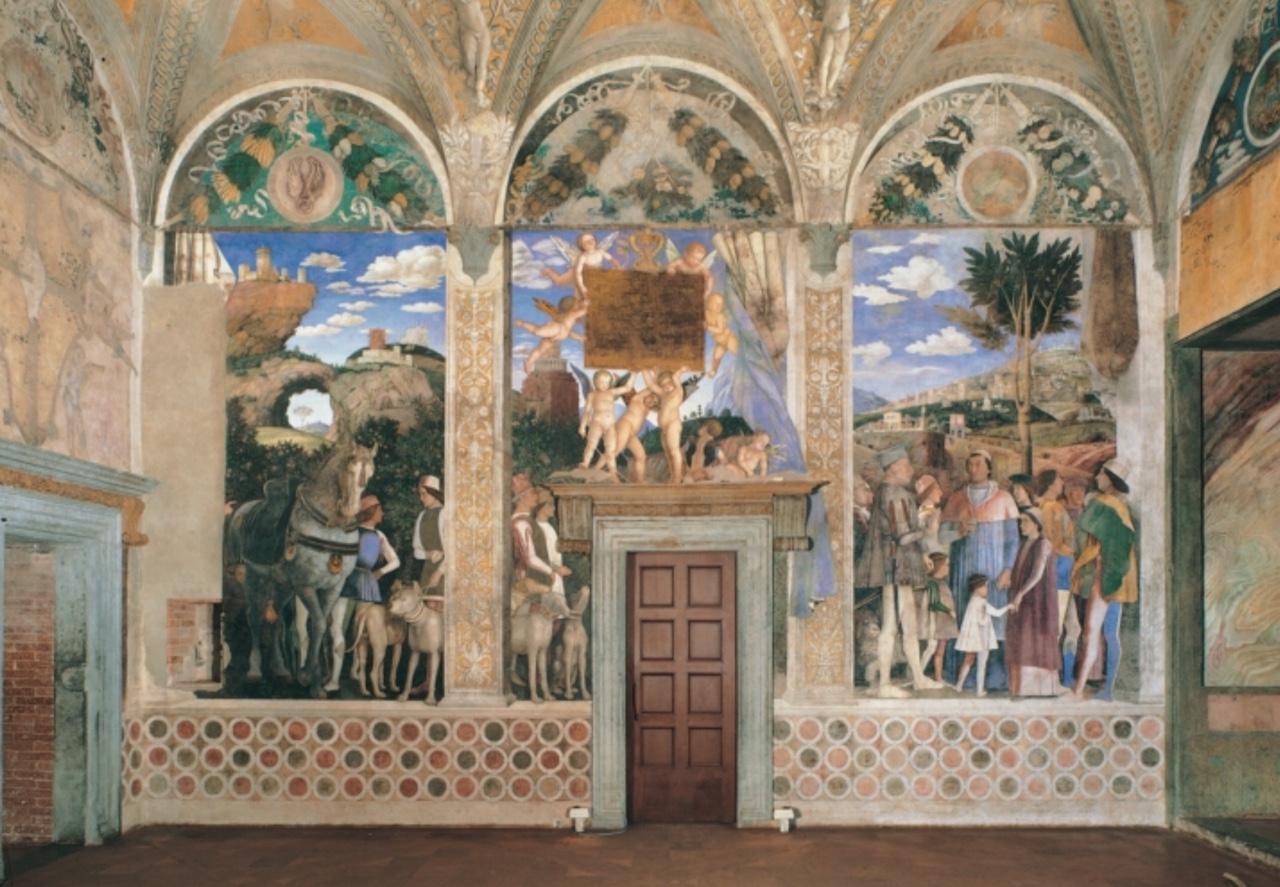 A mantegna la corte dei gonzaga for La corte dei gonzaga mantegna