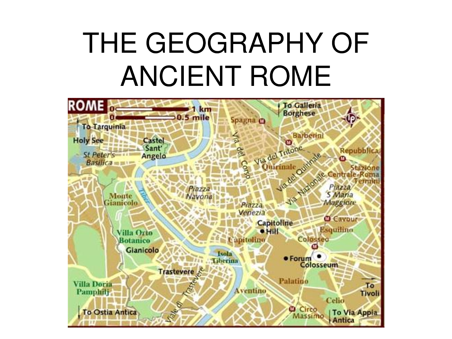 Rome Geography - ThingLink