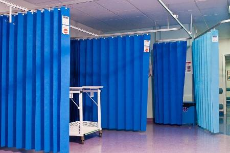 Clinical Curtains   Blue Bird Star