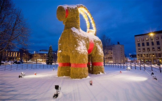 Christmas in Sweden - ThingLink
