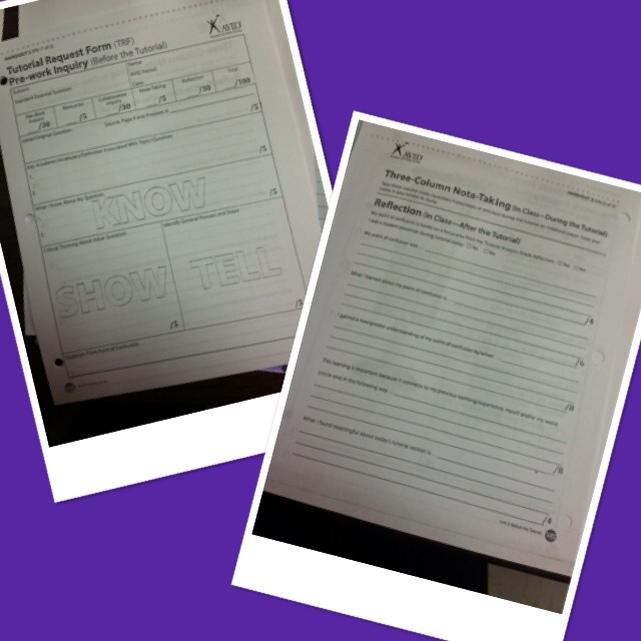 McDonald MS--AVID| the tutorial request form.