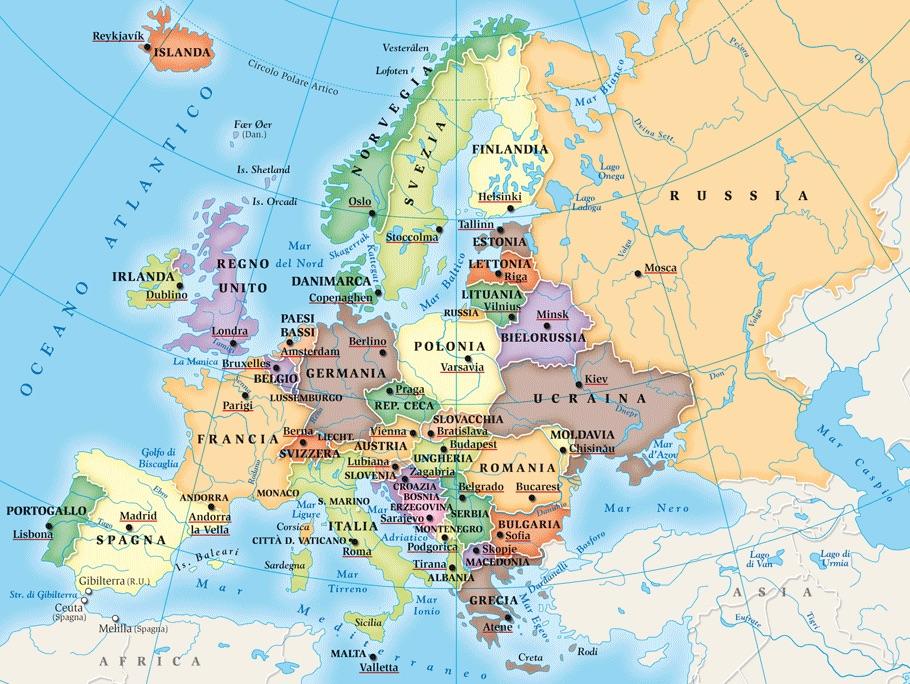 Cartina Amsterdam.Madrid Lisbona Parigi Roma Berlino Bena Amsterdam