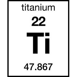 chemical element and titanium Titanium is the ninth most abundant element on earth it is almost always present in igneous rocks and the sediments derived from them it occurs in the minerals ilmenite, rutile and sphene and is present in titanates and many iron ores.