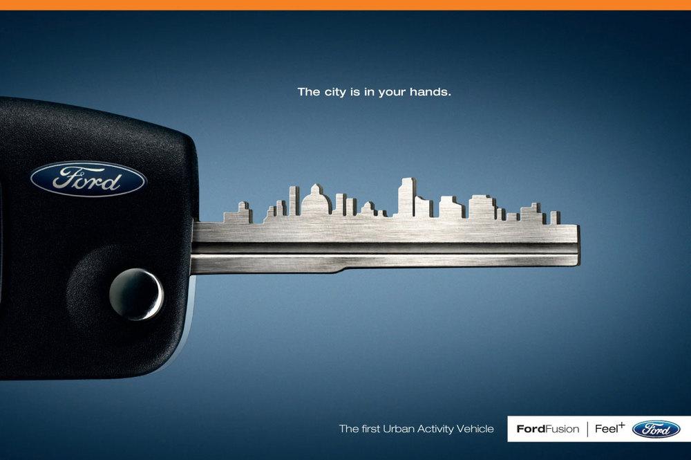 visual analysis advertisement