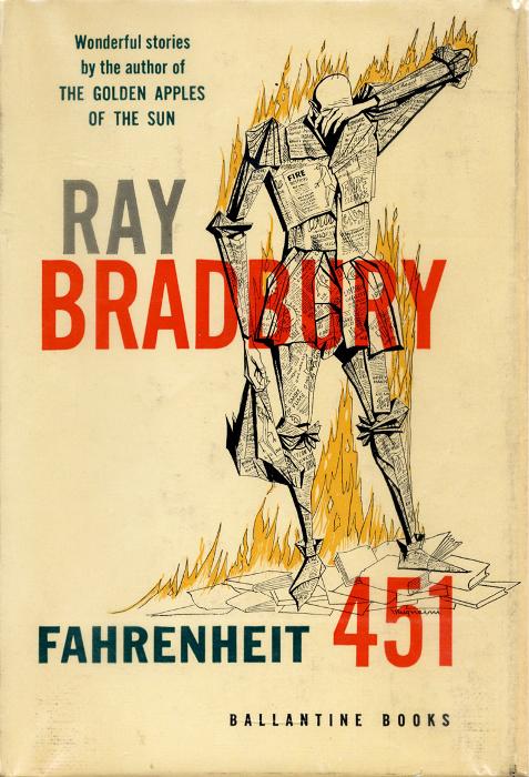 451 градус по фаренгейту», рэй брэдбери. Ray bradbury, fahrenheit.