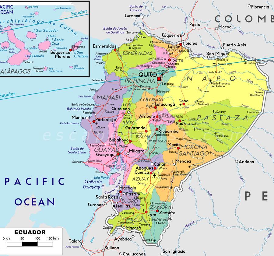Mia ecuador map