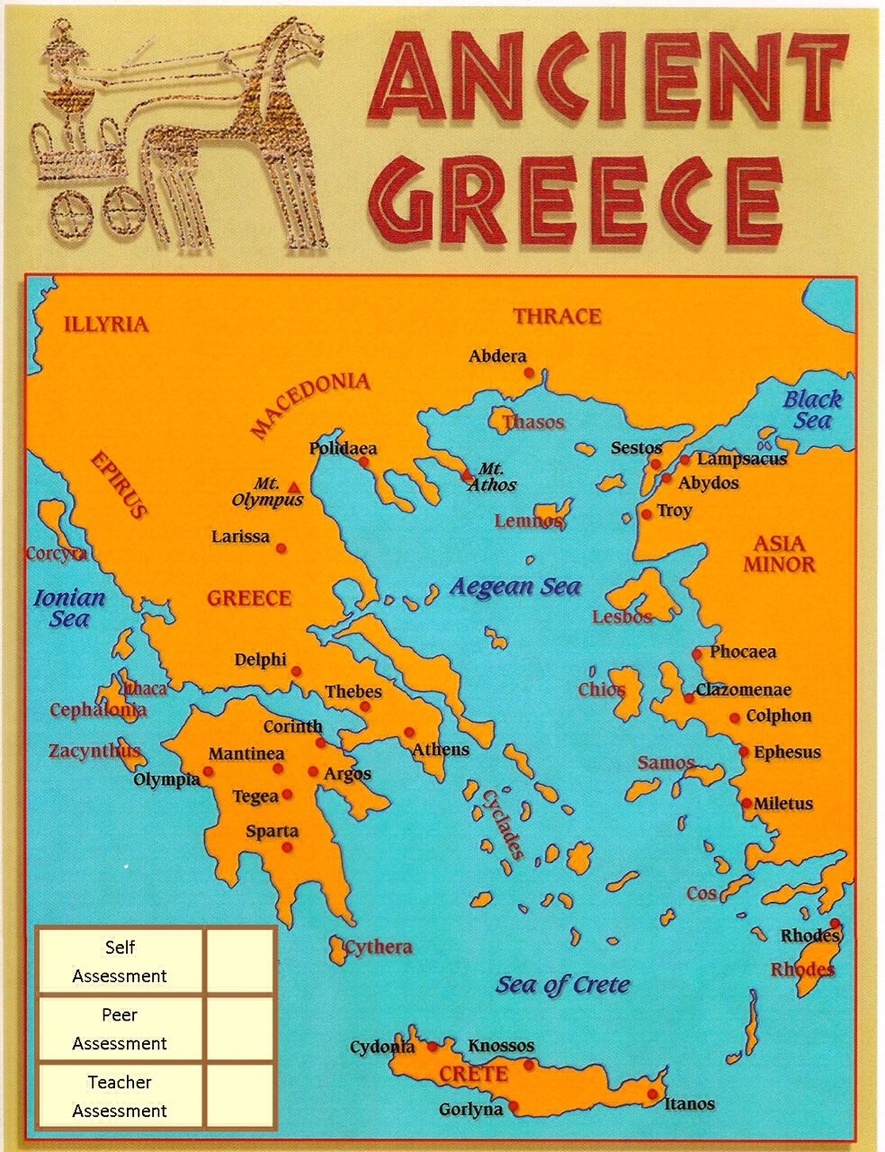 Ancient Greece - an interactive map on the sirens odysseus, map of ithaca greece, map of ithaca island, map of ulysses journey,