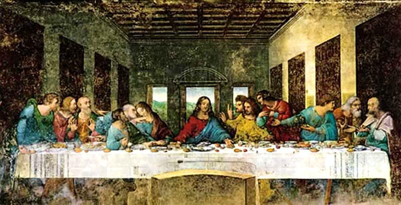 Descripción La Ultima Cena Leonardo Da Vinci Tecnica Ge