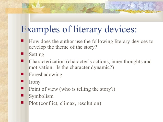 Literary Devices Thinglink