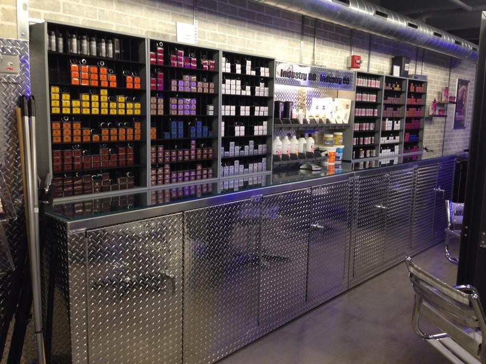 Salon Color Bar Hair Equipment Orga
