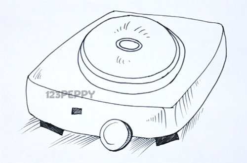 Hot Plate Drawing Hot Plates Are Used to Conduct