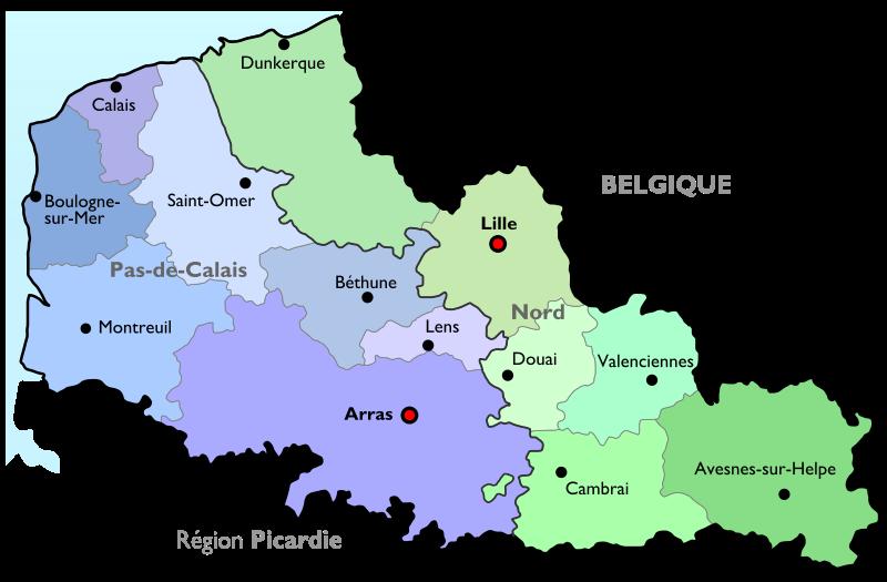 Nord Pas de Calais ThingLink