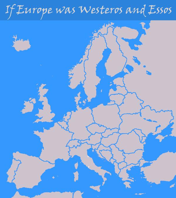 Karte Westeros Essos Deutsch.If Europe Was Westeros And Essos