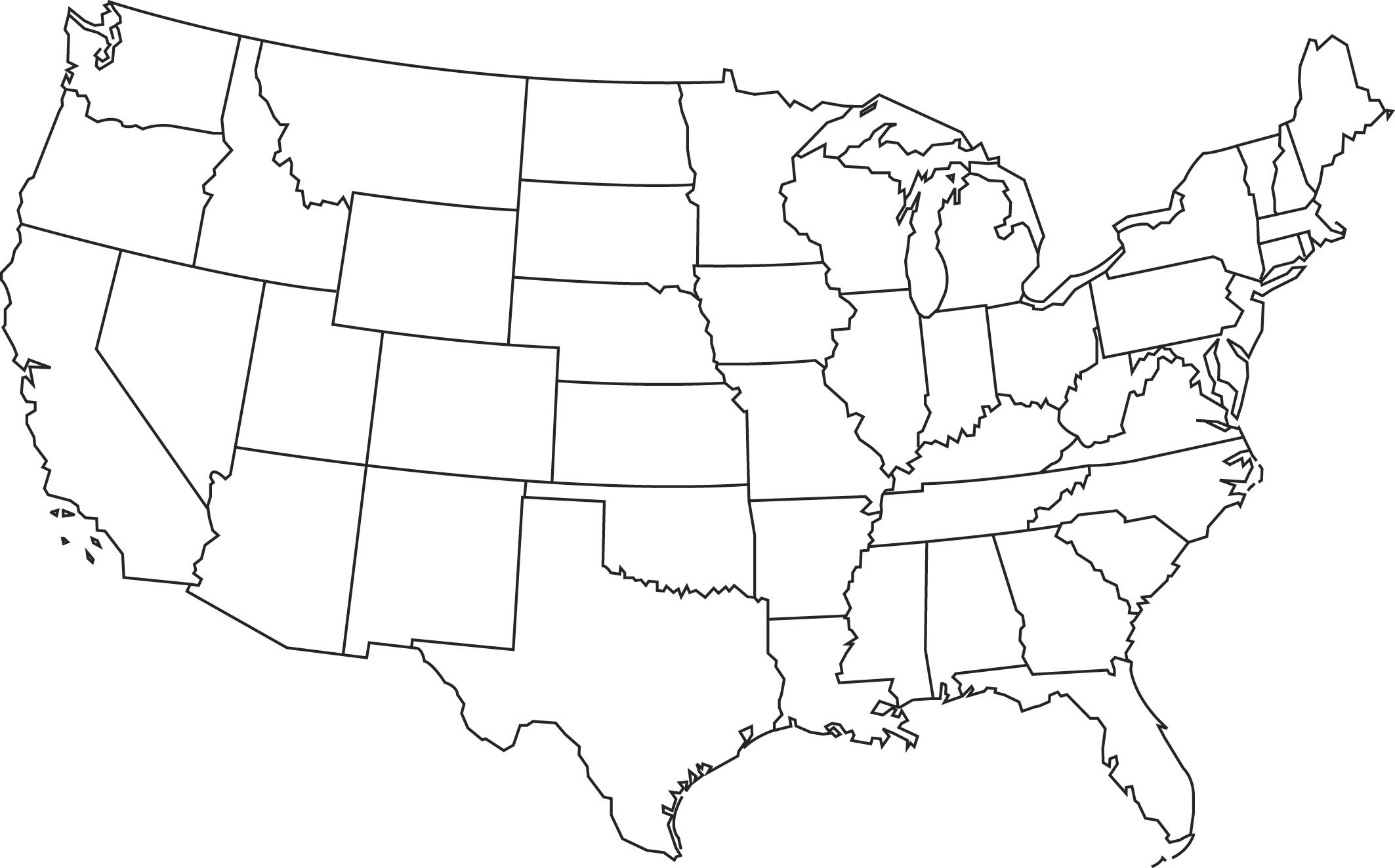 Blank Map ThingLink