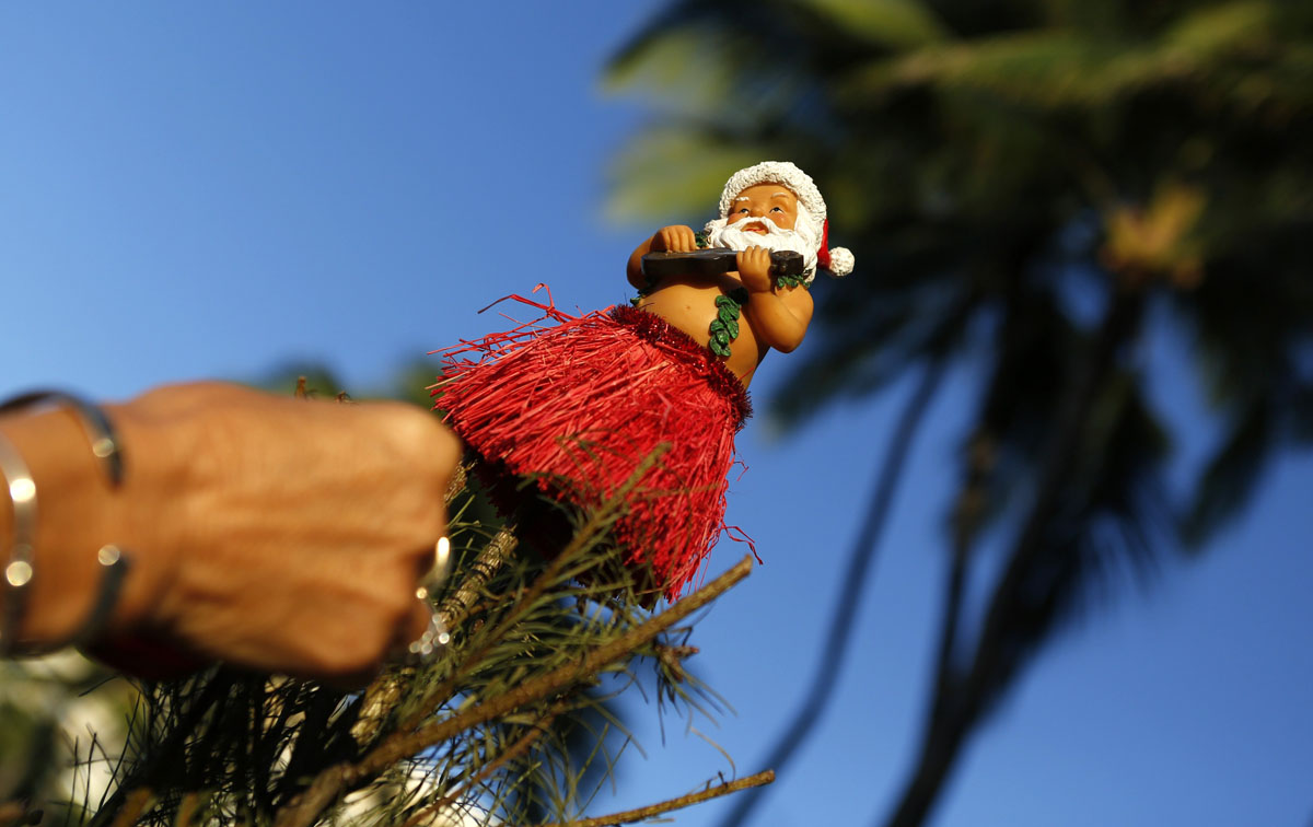 Christmas Tree Hawaii Part - 50: What Is Christmas Like In Hawaii?, :The Man Behind The St... - ThingLink