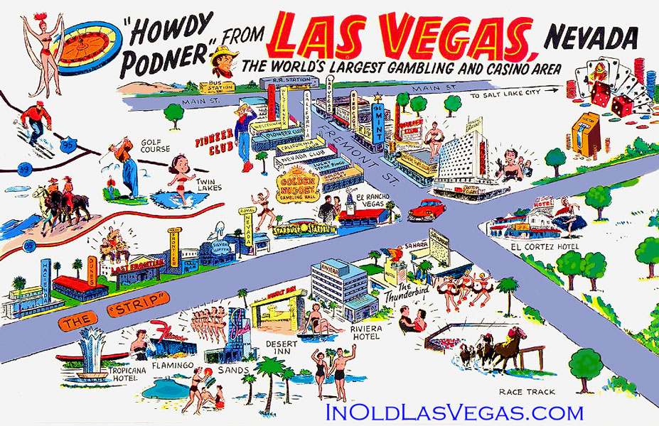 LAS Vegas Tourist Map Hotel Casinos ThingLink - Las vegas map of hotels