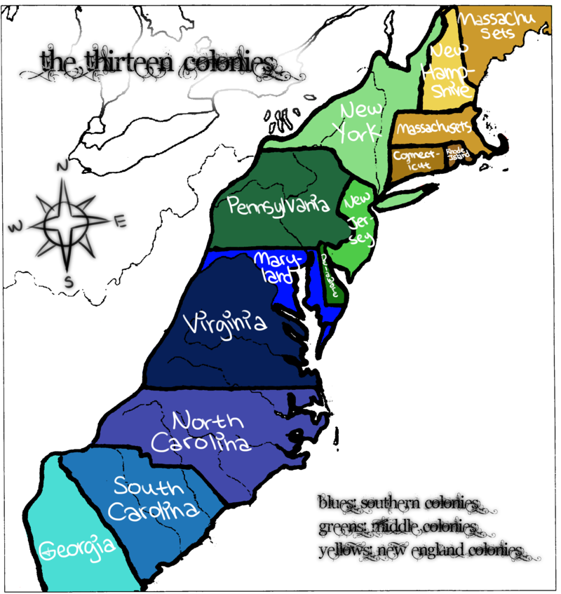 The First 13 Colonies What Did They Do  ThingLink