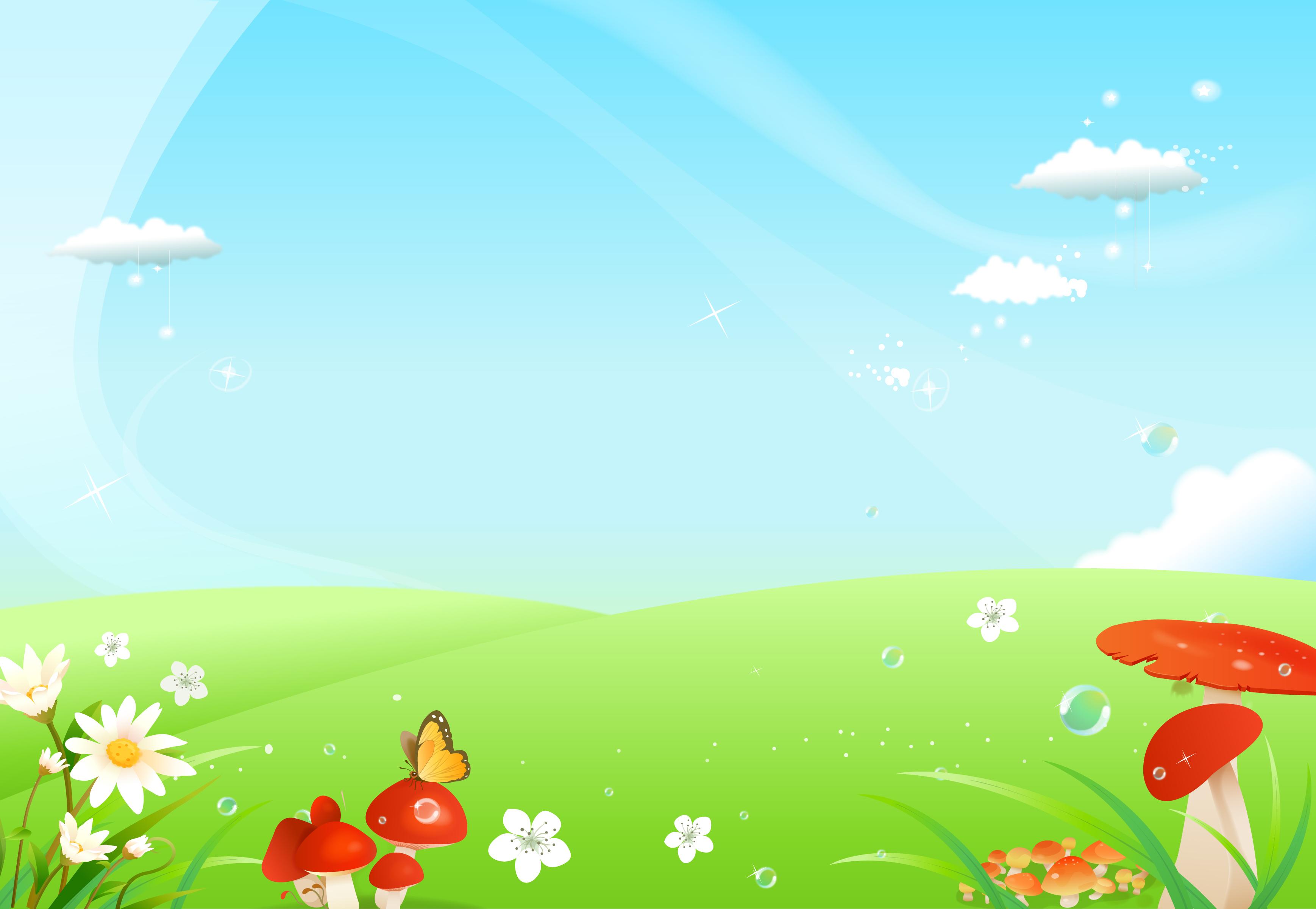 Картинки фон для презентации детские