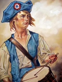 Joseph Plumb Martin Boy Soldier