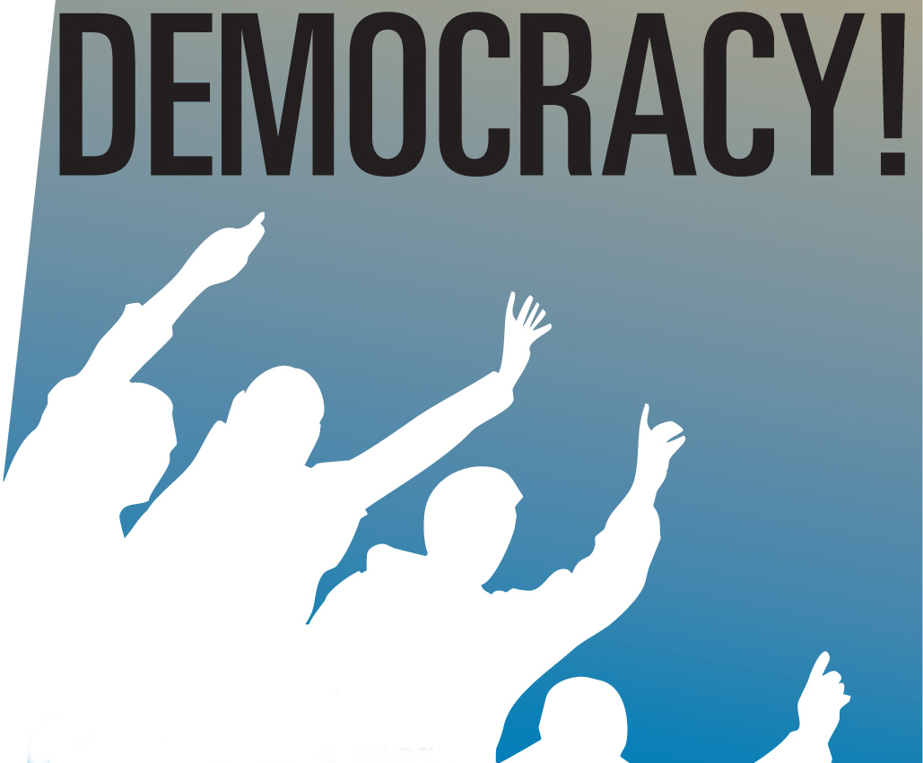 Democracy- Is a form of government using people as the po ...