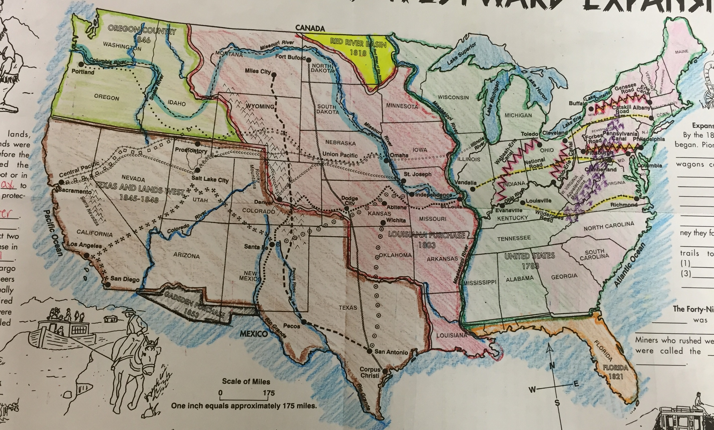 Westward Expansion Map on timeline of us expansion, map of united states westward expansion after, mapping us expansion, map japan expansion, us outline map expansion, map showing the expansion of the united states,