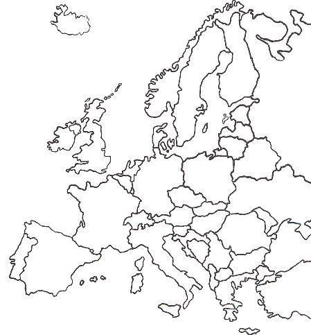 Mapa Politic D Europa