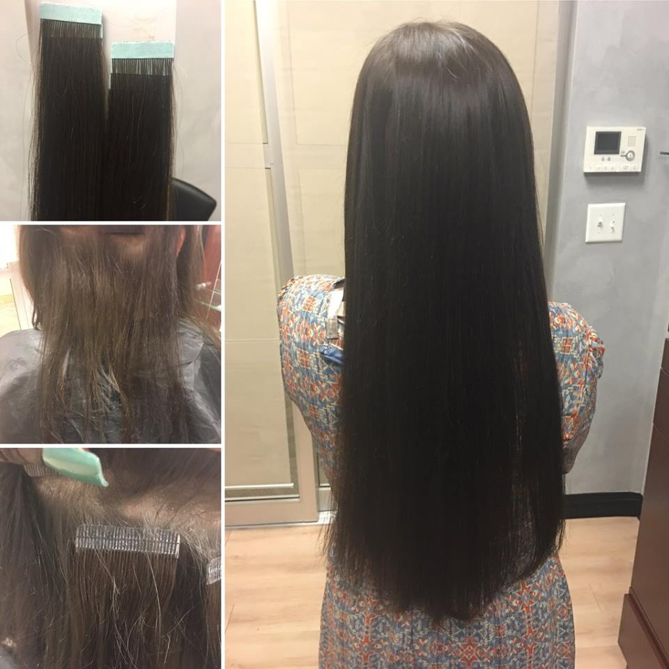 Nina Ross Hair Therapy Tape In Hair Extensions In Atlanta