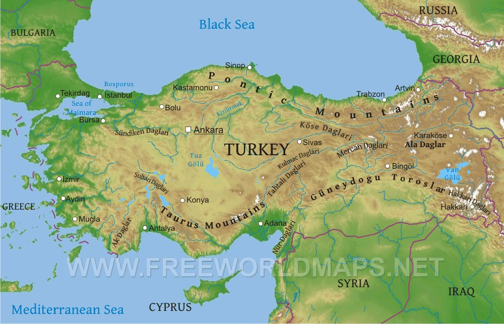 Why Is The Black Sea Coast Of Turkey So Conspicuously Missing From