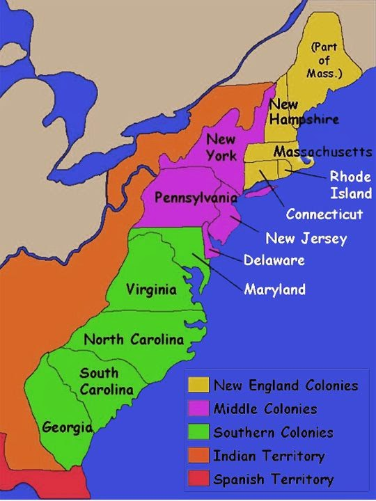 Massachusetts was one of the first colonies to be founded ...