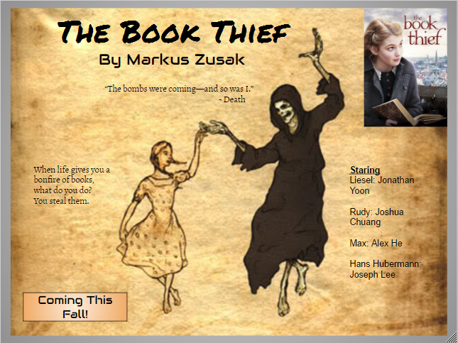 book thief analysis The book thief [markus zusak] on amazoncom free shipping on qualifying offers don't miss bridge of clay , markus zusak's first novel since the book thief.