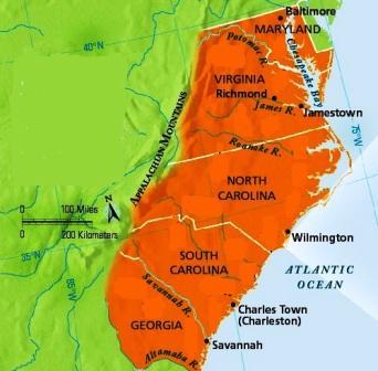 Worksheet. Southern Colonies  ThingLink