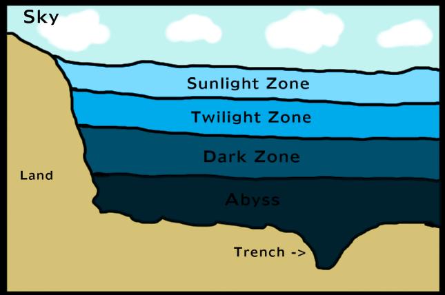 Ocean Zones - ThingLink
