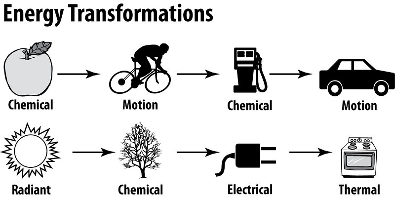 energy transformation Lesson 2 energy transformation and flow nagele, et al 2016 page 12 lesson 2 energy transformation and flow overview in this lesson students will observe two demonstrations in which energy.