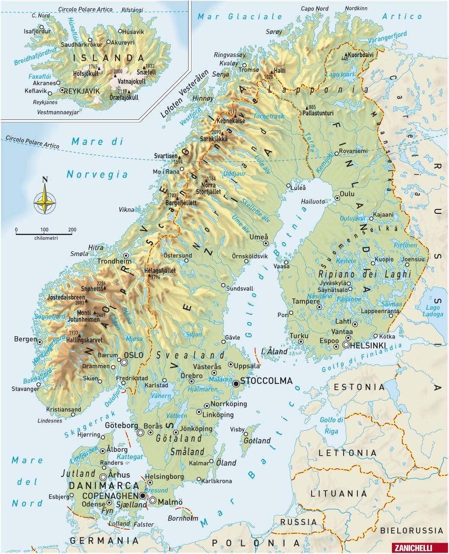 Regione Scandinava E Baltica
