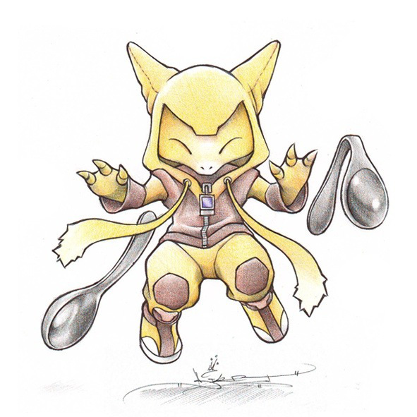 abra is the cutest pokemon ever
