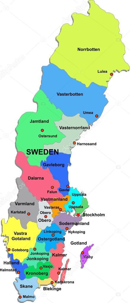 Sverige Landskap Geografispel Sverige Landskap Geog